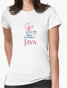 java classic programming language sticker Womens Fitted T-Shirt