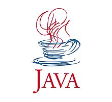 java classic programming language sticker Photographic Print