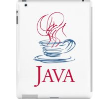 java classic programming language sticker iPad Case/Skin