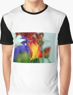 Close up on flower petals. Graphic T-Shirt