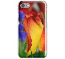 Close up on flower petals. iPhone Case/Skin
