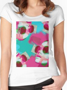 WIRD GLASSES Women's Fitted Scoop T-Shirt