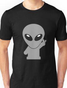 Space Alien Tees Cartoon Mascot (2) Unisex T-Shirt