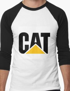 CATERPILLAR LOGO Men's Baseball ¾ T-Shirt