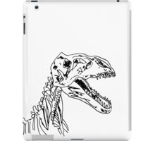 Sketch of dinosaur iPad Case/Skin