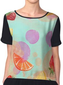 Fruit boom! Chiffon Top