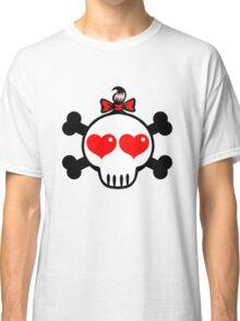 Girl Skull Classic T-Shirt