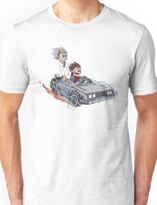 Calvin and Hobbes Back Future Unisex T-Shirt
