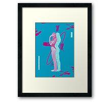sporty girl Framed Print