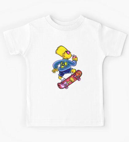 Cool Nuclear Bart Kids Tee