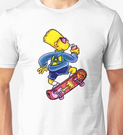 Cool Nuclear Bart Unisex T-Shirt