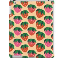 Retro Summer Strawbs iPad Case/Skin