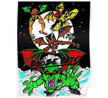booze bats Poster