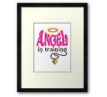 Angel in Training Framed Print