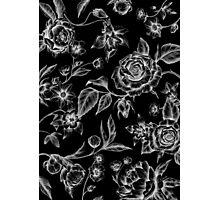 Summer flowers dark Photographic Print