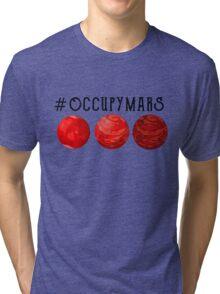 Mars 2030 - Occupy Mars Tri-blend T-Shirt