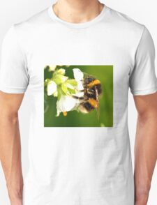 Bee In Peebles Garden T-Shirt
