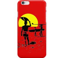 ENDLESS SUMMER SURFING iPhone Case/Skin