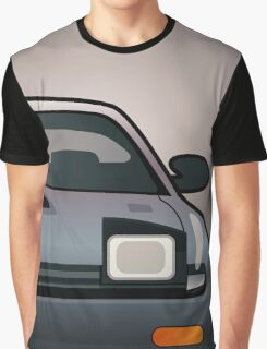 Modern Japanese Icons Series Toyota Celica  GT-Four All-Trac Turbo ST185 (Split) Graphic T-Shirt