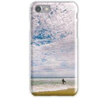 Midday surf at Cabarita Beach iPhone Case/Skin