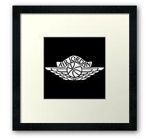 Jordan Wings Framed Print