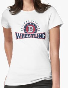 beckman_wrestling Womens Fitted T-Shirt