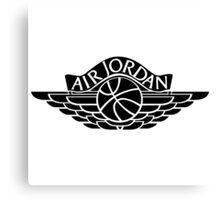 Jordan Wings Canvas Print