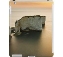 Sunrise Old Harry Rocks iPad Case/Skin