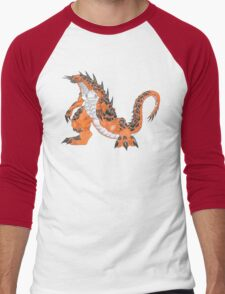 ceron__the_magma_monster Men's Baseball ¾ T-Shirt