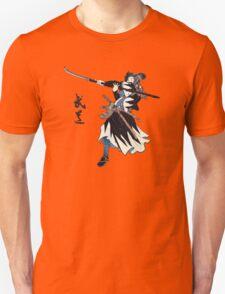 Samurai Wielding Naginata T-Shirt