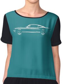 car Chiffon Top