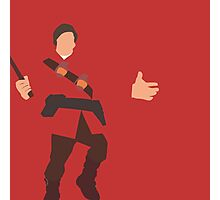 Rocket Jumping - TF2 Soldier Photographic Print