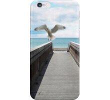 BEACH = HAPPY iPhone Case/Skin