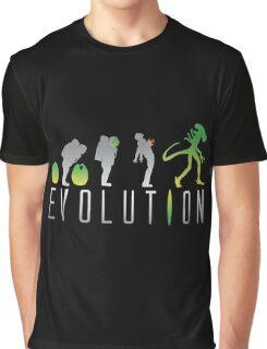 Evolution Aliens Graphic T-Shirt