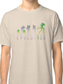 Evolution Aliens Classic T-Shirt