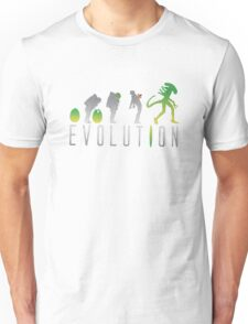 Evolution Aliens Unisex T-Shirt