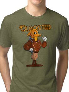 The Quacketeer. Tri-blend T-Shirt