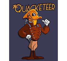 The Quacketeer. Photographic Print
