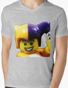 Lego Jester! Mens V-Neck T-Shirt