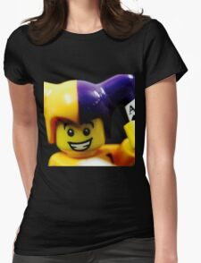 Lego Jester! Womens Fitted T-Shirt