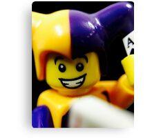 Lego Jester! Canvas Print