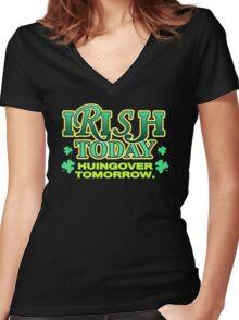 Irish Today Women's Fitted V-Neck T-Shirt