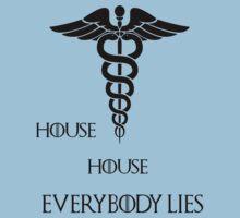 House House- Everybody lies Kids Tee