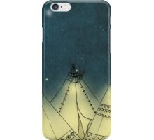 Tipi's in starlight (version 1) iPhone Case/Skin