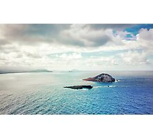 Islands of Oahu Hawaii  Photographic Print