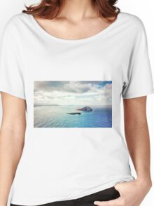 Islands of Oahu Hawaii  Women's Relaxed Fit T-Shirt
