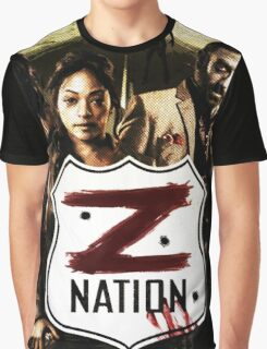 Z nation - cast Graphic T-Shirt