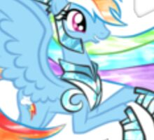 Princess Rainbowdash Sticker