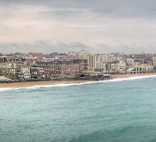 Biarritz Skyline France by Joshua McDonough Photography