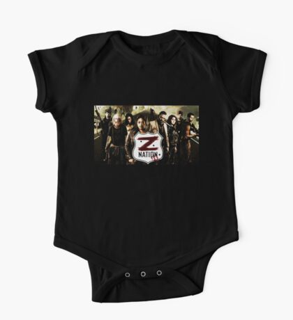 Z nation - cast One Piece - Short Sleeve